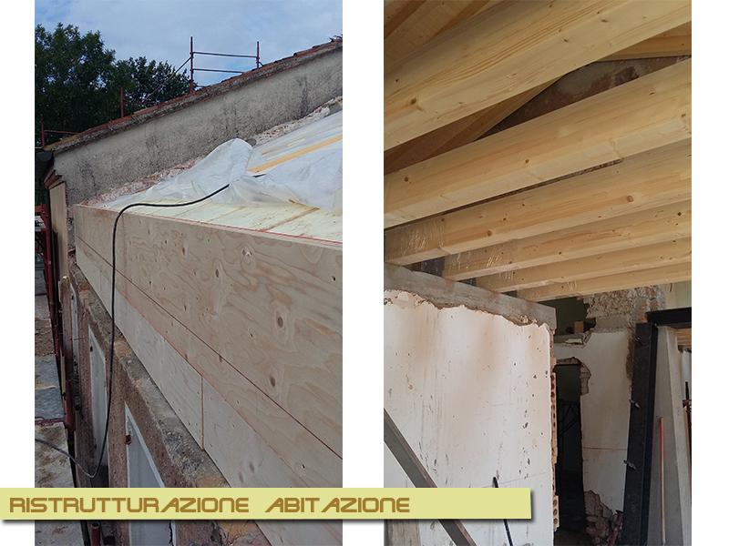 Restauro di un edificio adibito ad abitazione a Selva del Montello (TV)