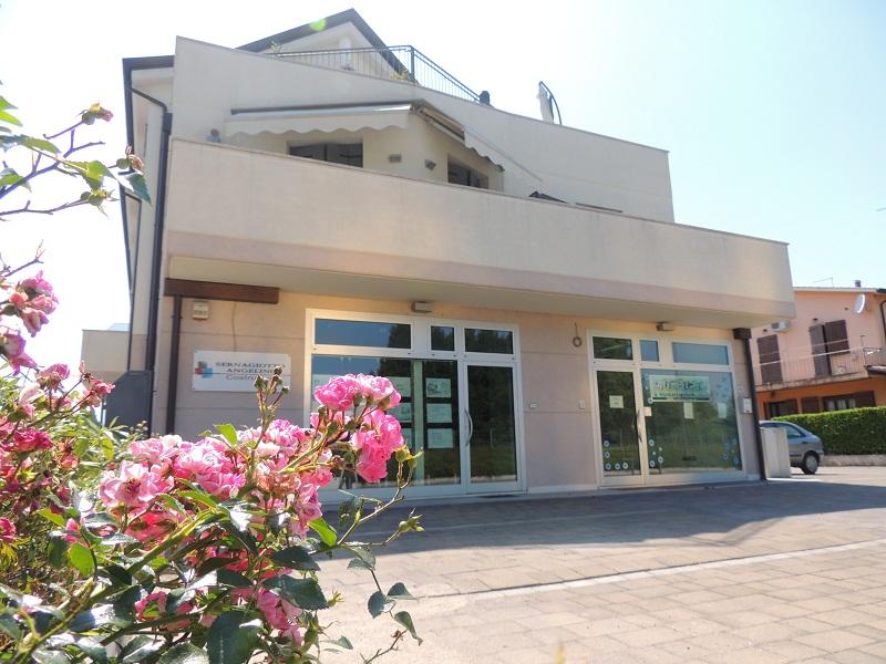 Costruzione di un edificio a Ponzano Veneto, Treviso.
