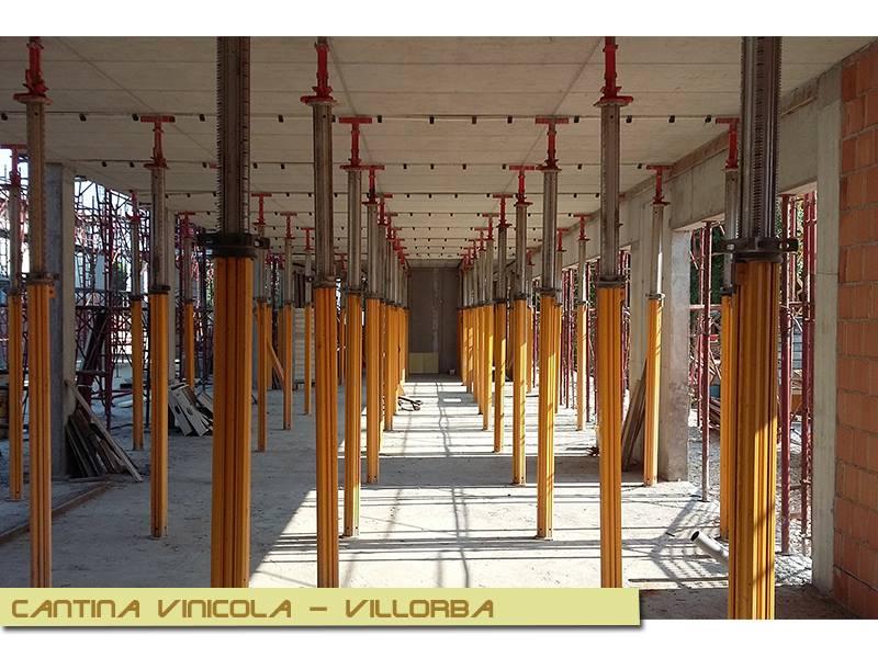 Nuova realizzazione di una Cantina Vitivinicola a villorba in provincia di Treviso