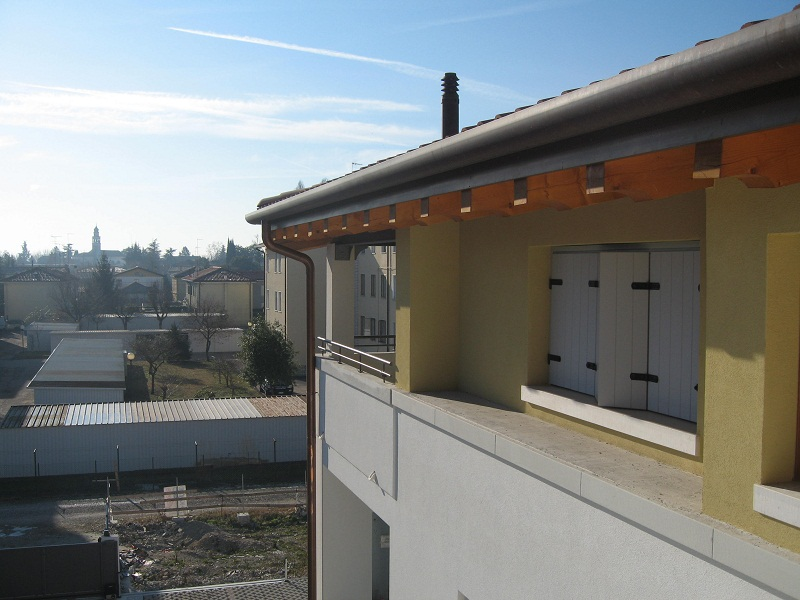 L'impresa Sernagiotto Angelino ha costruito due edifici di moderna generazione a Fiera, Treviso.